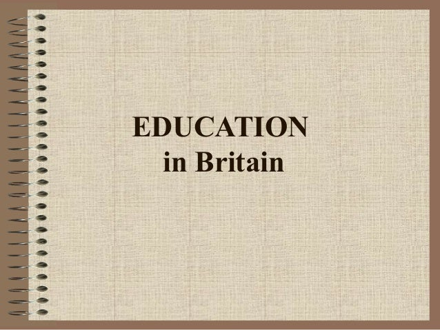 education in great britain essay