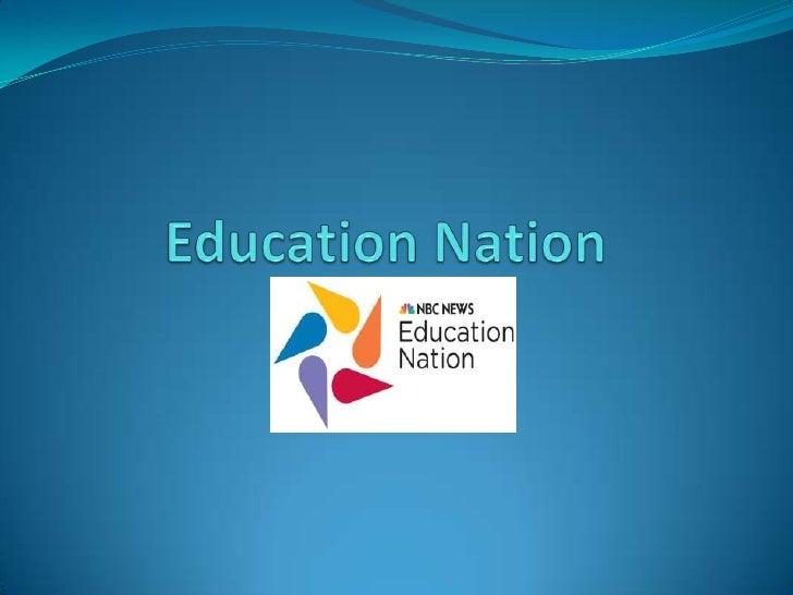Education Nation<br />