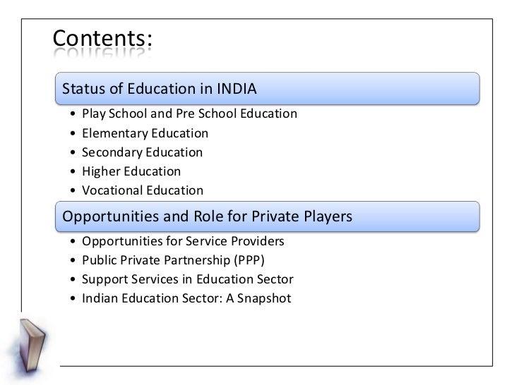 short essay on indian education system
