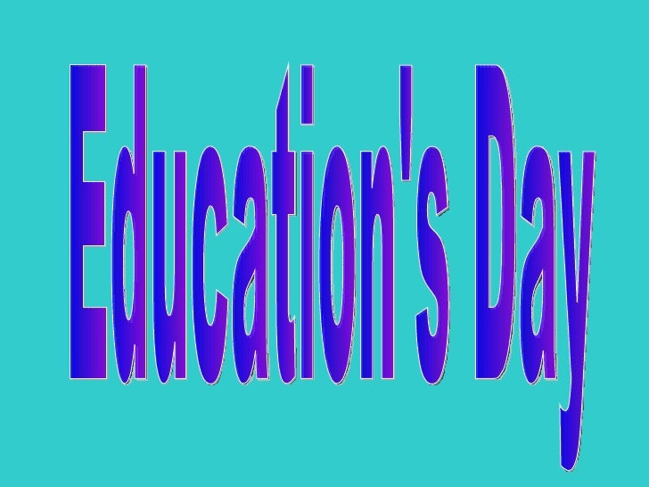Education's Day