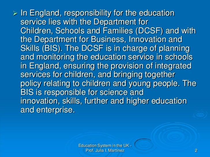 education system in uk essay