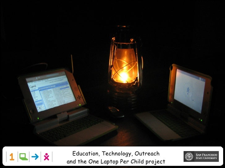 Education, Technology, Outreach and the One Laptop Per Child project