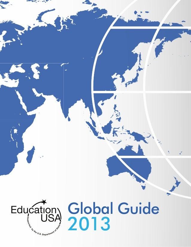 EducationUSA Global Guide 2013