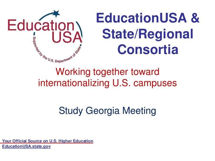 EducationUSA &                                                 State/Regional                                             ...