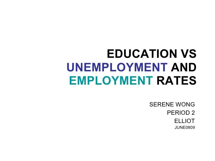 thesis about employment rate
