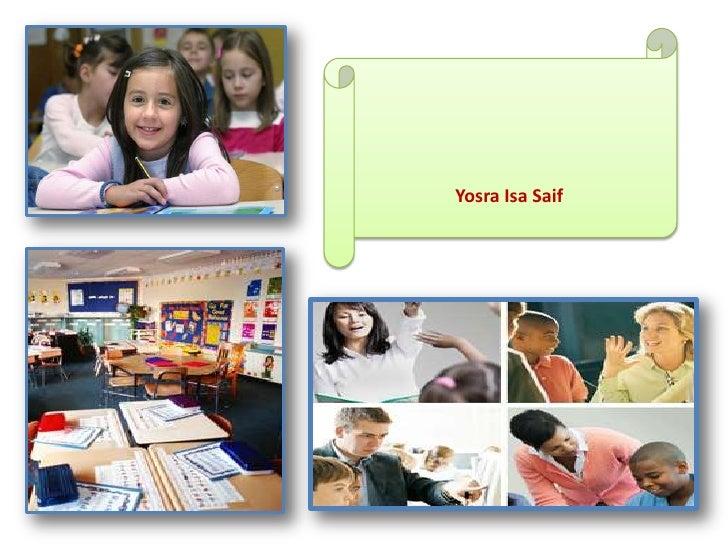 Education workshop differentiated (yosra isa)