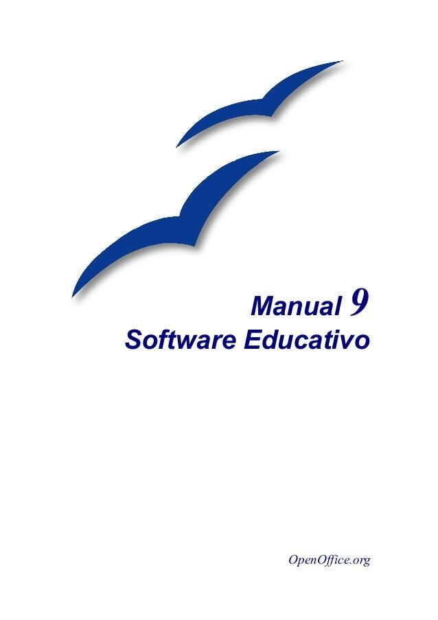 Manual 99 Software Educativo OpenOffice.org