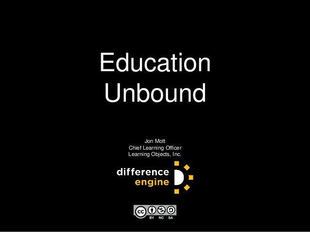 Educause 2013   Education Unbound