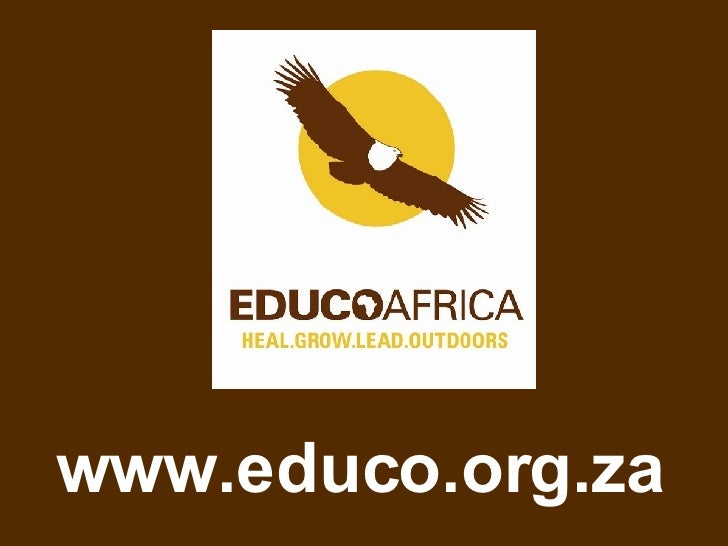 Educo Africa At A Glance October 2008