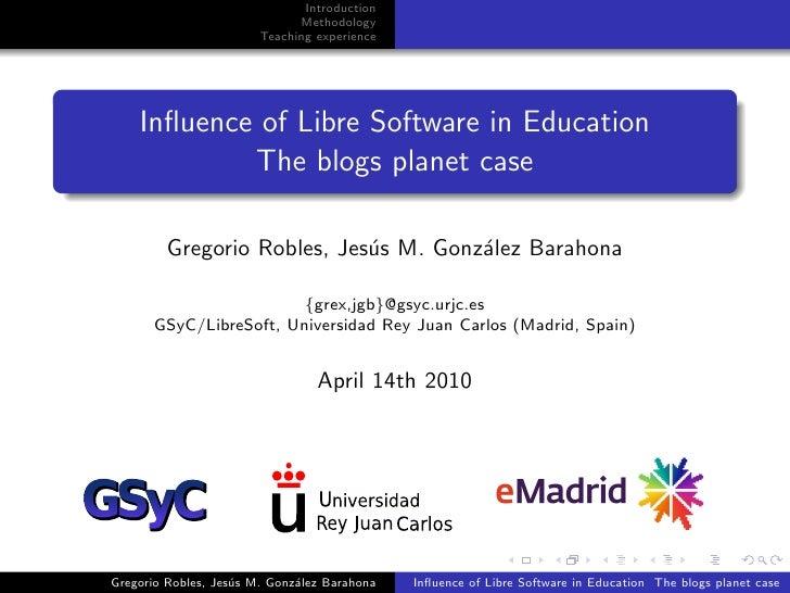 2010-04-14 educon eMadrid Gregorio Robles URJC