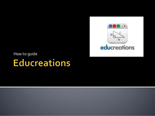 Educreations presentation