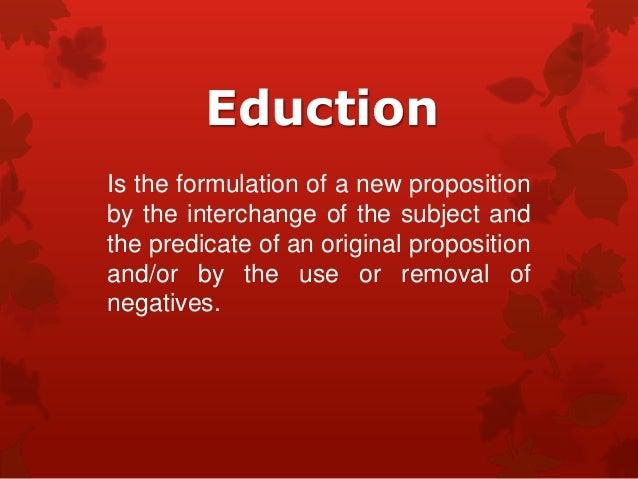 Eduction (ph1)