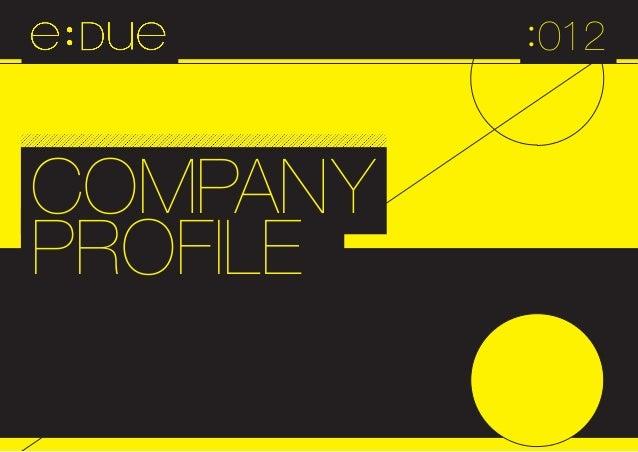 Edue profile