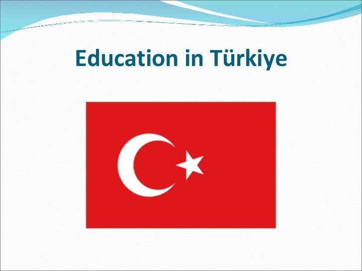 Education in Türkiye