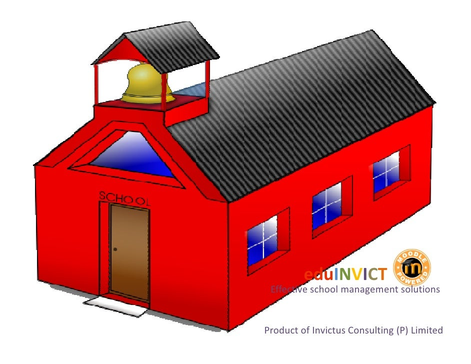 eduINVICT Effective school management solutionsProduct of Invictus Consulting (P) Limited