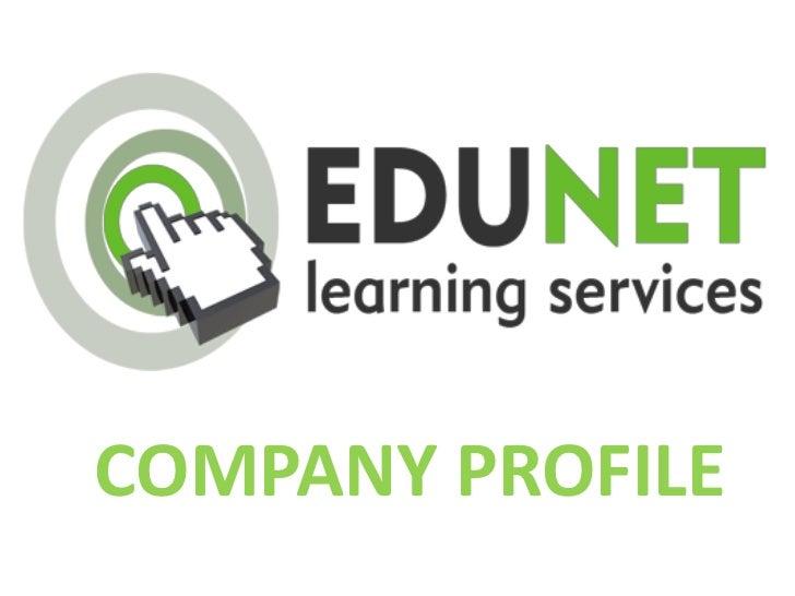 Edunet learning presentation