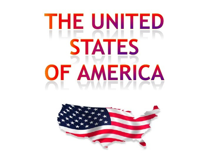The united States<br />Of America<br />