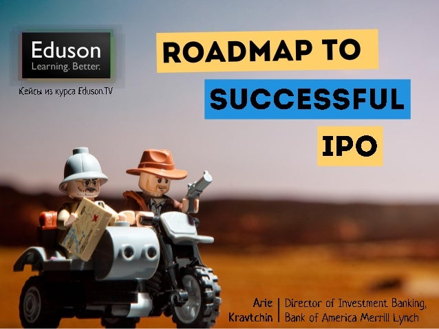 Eduson.tv Дорога к успешному IPO
