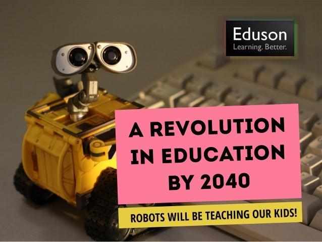 Eduson.tv Education Forecast 2040