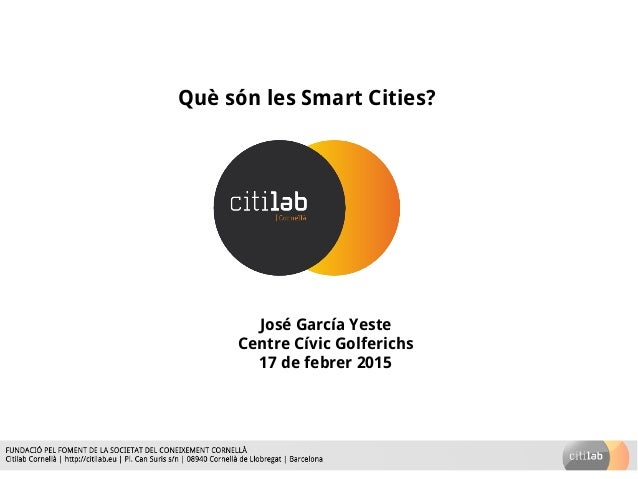 qu s n les smart cities
