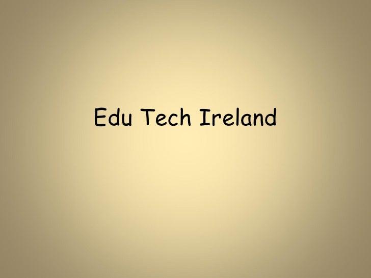 Edu tech ireland