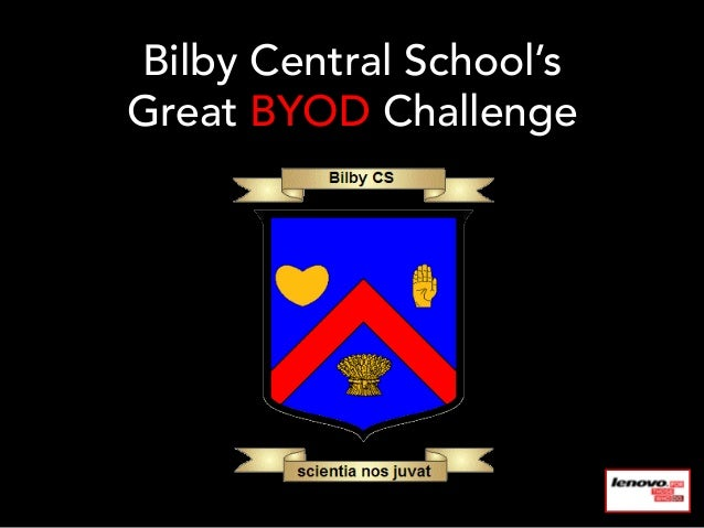Bilby Central School'sGreat BYOD Challenge