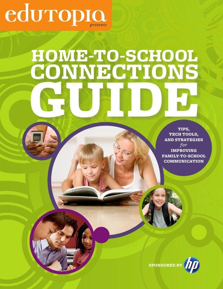 Edutopia home-to-school-guide