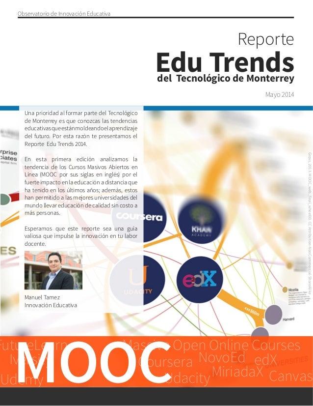 Reporte Edu Trends del Tecnológico de Monterrey
