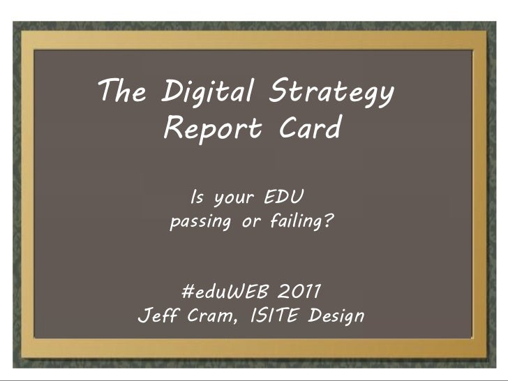 Digital Strategy Report Card: Is your EDU passing or failing?
