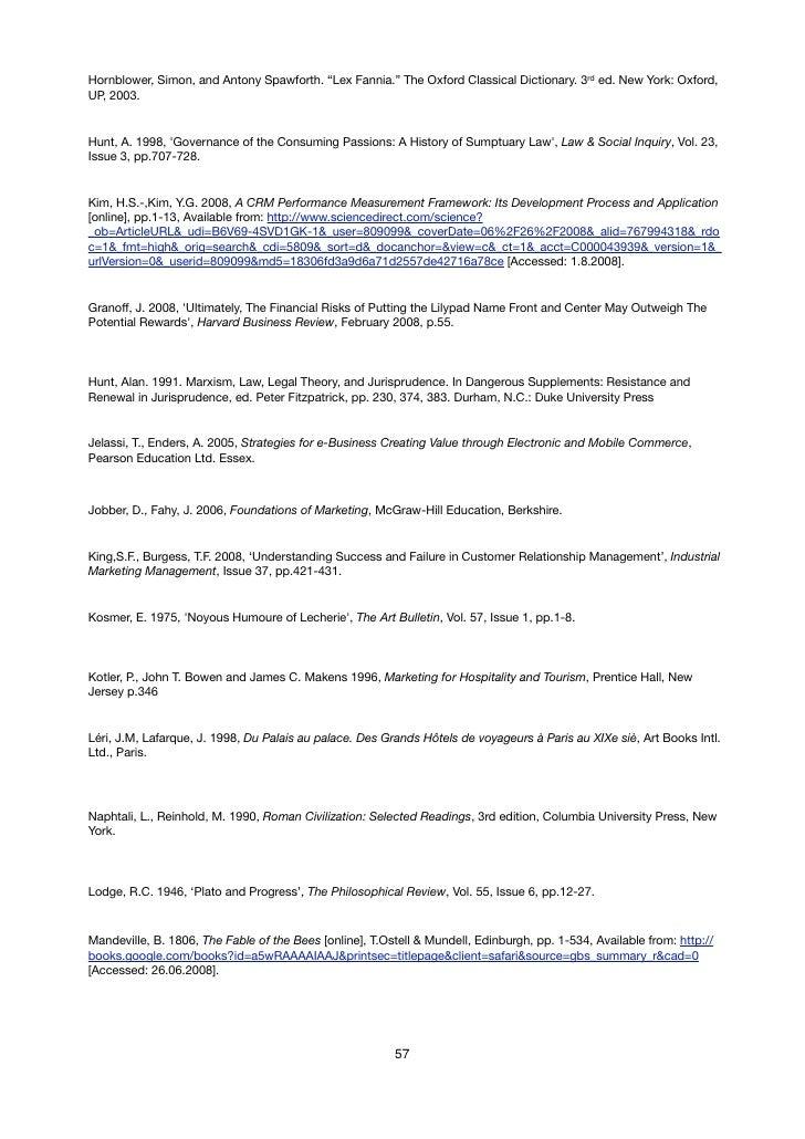 Oxford dissertations