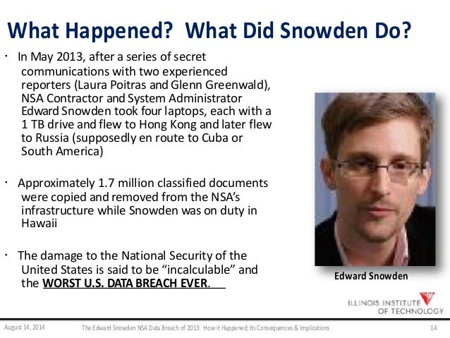 edward snowden essay Edward snowden was a technical contractor for the nsa and the cia he recently released personal information about millions of people in order to prove that the us government is recording the.