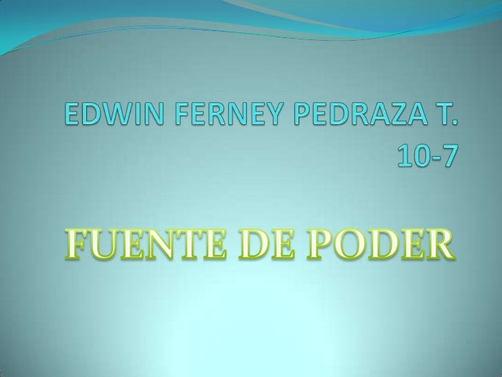 Edwin pedraza 10 7