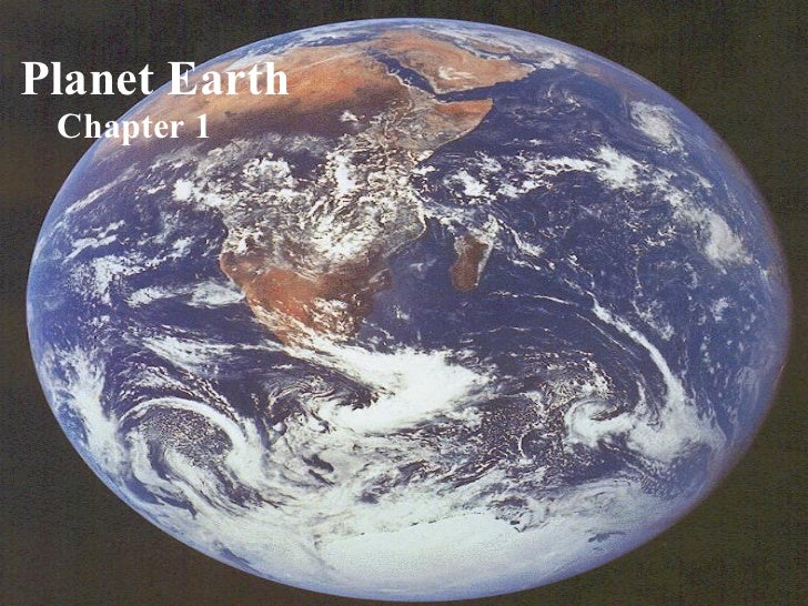 Planet Earth Chapter 1