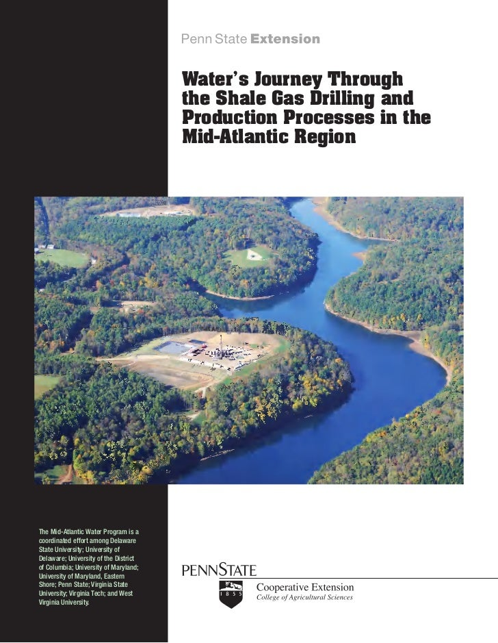Water's Journey Through                                       the Shale Gas Drilling and                                  ...