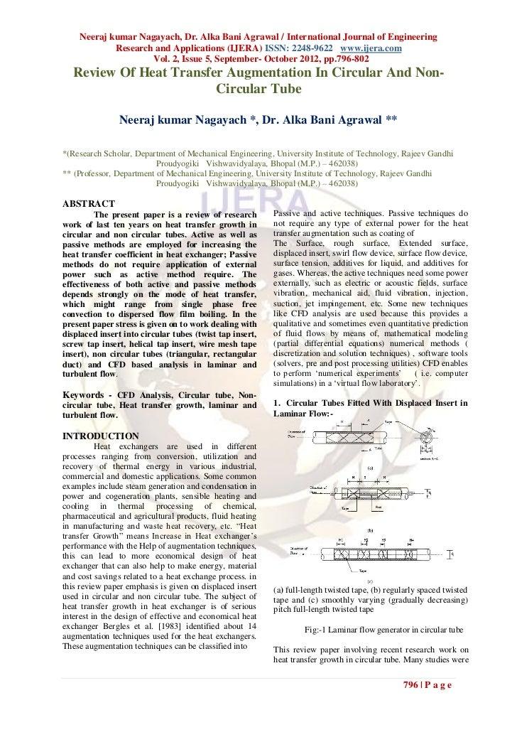 Neeraj kumar Nagayach, Dr. Alka Bani Agrawal / International Journal of Engineering            Research and Applications (...