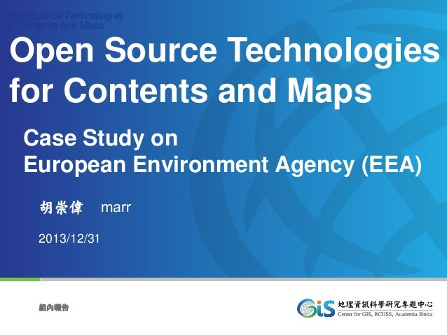 Open Source Technologies for Contents and Maps