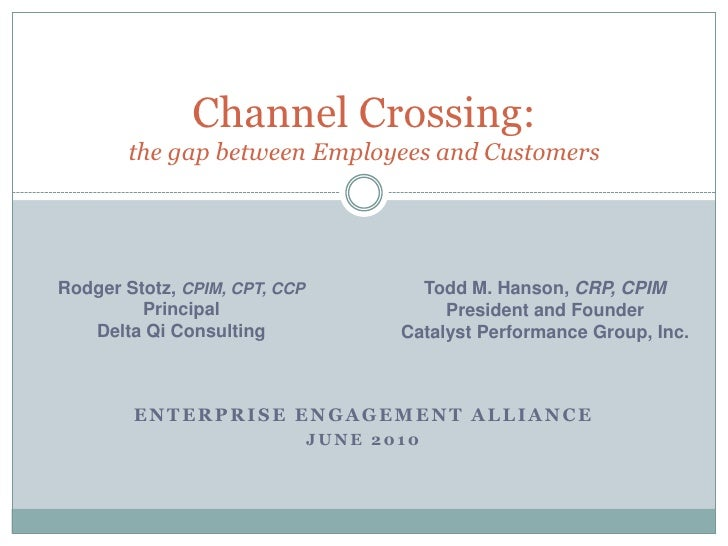 EEA Networking Event - Channel Programs And ROI