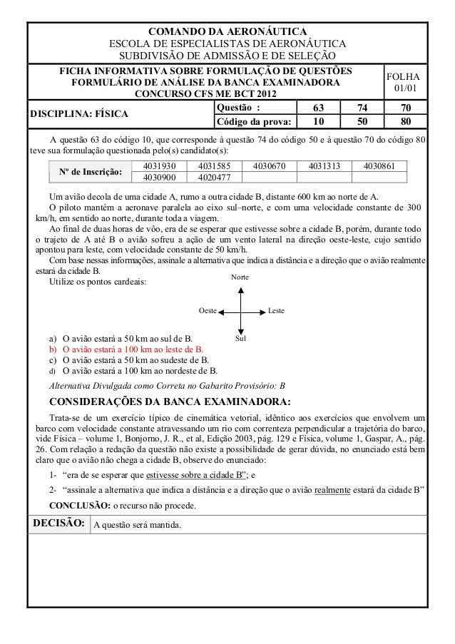 COMANDO DA AERONÁUTICA                      ESCOLA DE ESPECIALISTAS DE AERONÁUTICA                        SUBDIVISÃO DE AD...