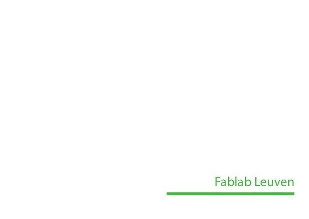 Fablab Leuven