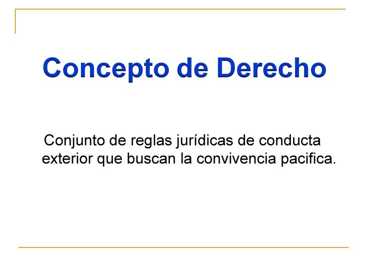 DERECHO DERECHO Y MAS DERECHO