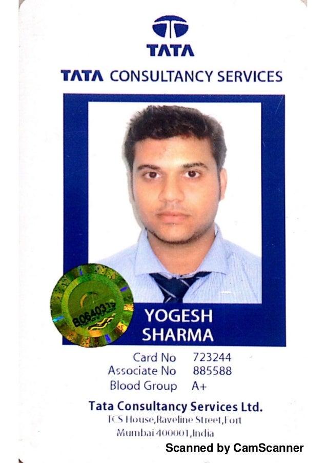 Identity Card Tcs