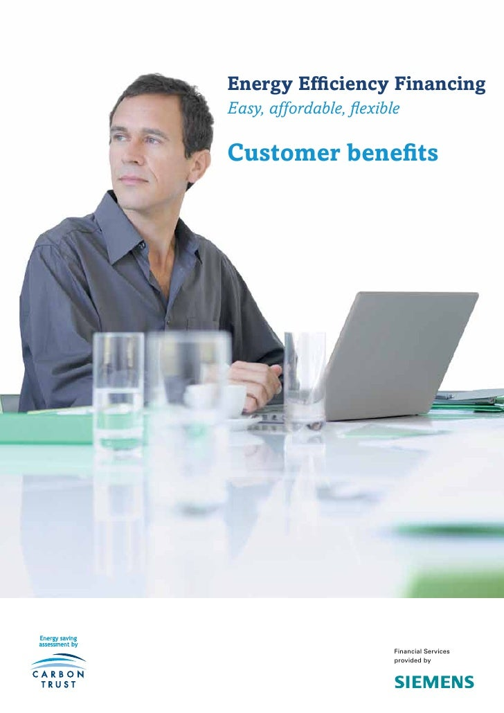 Energy Efficiency FinancingEasy, affordable, flexibleCustomer benefits                         Financial Services         ...