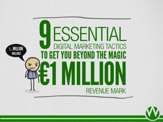 Etail Excellence Ireland Slides: 9 Essential Digital Marketing Tactics To Get You Beyond The Magic €1 Million Revenue Mark