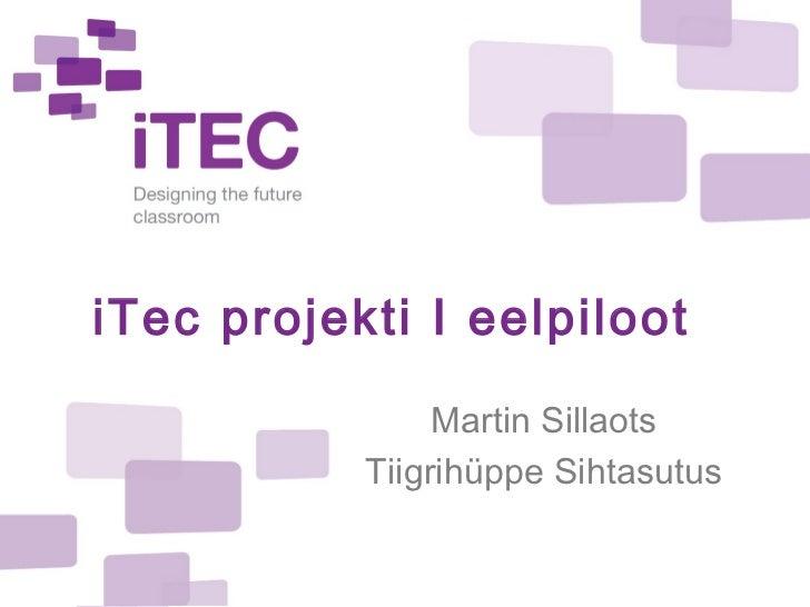 iTec eelpiloot 1