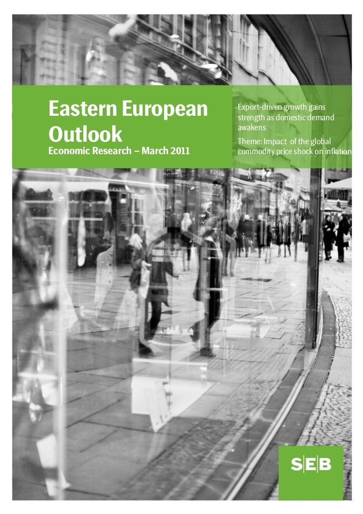 SEB-report: Consumption, exports boost eastern European economies