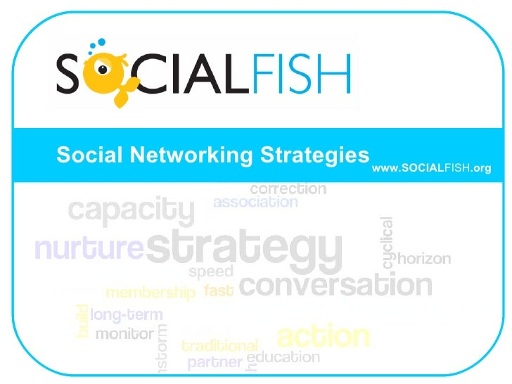 Social Networking Strategies www.SOCIAL FISH .org