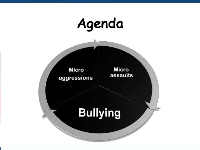 Bullying and microaggression