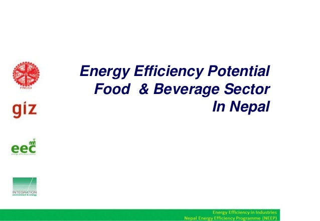 Energy Efficiency Potential in Food & Beverage Industries in Nepal