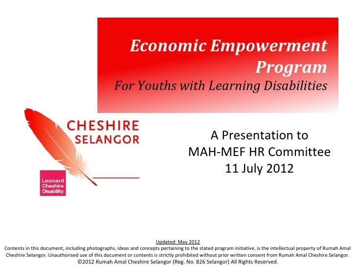 Economic Empowerment                                                                     Program                          ...