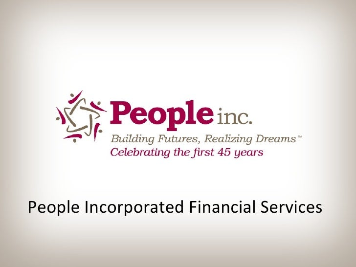 People Incorporated Financial Services